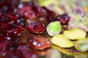 Sablé mit Pistazien Crnaberries u Pistazien