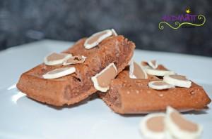 Brownie Waffeln 1