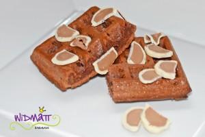 Brownie Waffeln 2