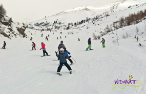 Skifahren Junior