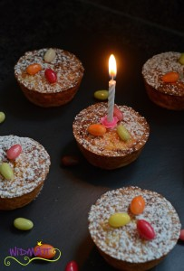 Ostertötchen mit Kerze