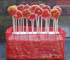 Cake Pops Garten