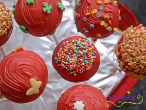 Cake Pops oben