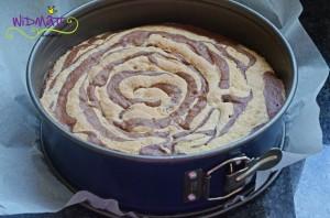 Mousse Torte gebacken