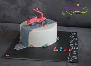 Vespa Torte 1