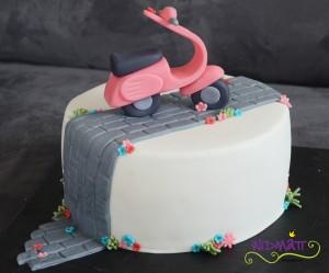 Vespa Torte 2