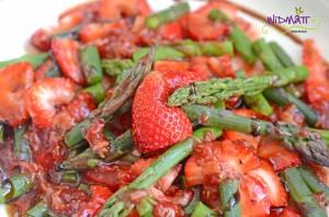 Spargel Erdbeersalat 2
