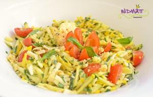 Zucchetti Käse salat 2