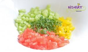 Bulgur Salat Gemüse