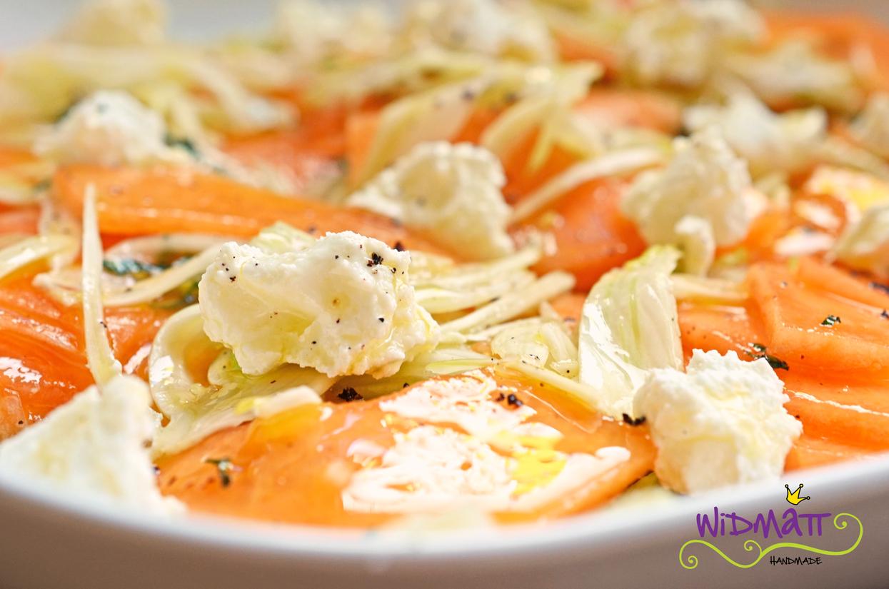 fenchelsalat mit orangensaft