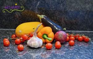 Sommergemüse aus dem Ofen Gemüse 1