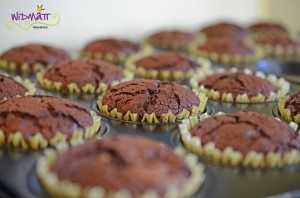 Heldencupcakes gebacken
