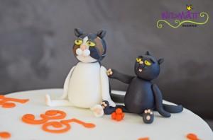 Katzentorte Katzen