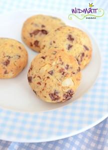 widmatt.ch Schokoladen Cookies mit Orange und Macadamia Nüssen
