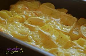 Raclett aus dem Ofen