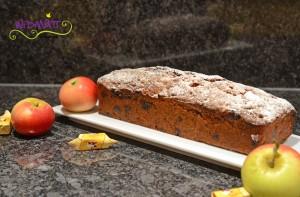 Apfel Caramel Cake 2