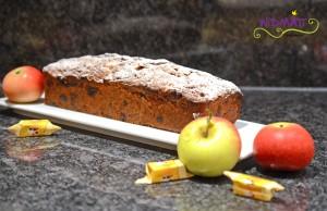Apfel Caramel Cake