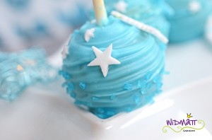 Cake Pop mit Stern klein