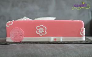 Päckli rosa mit Blumen 2