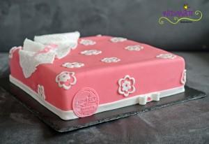 Päckli rosa mit Blumen 4