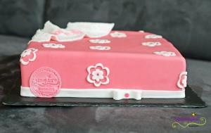 Päckli rosa mit Blumen 5