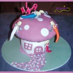 Torte Feenhaus