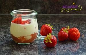 widmatt.ch Erdbeer-Rhabarbercrème