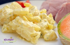 widmatt.ch Kartoffelsalat mit Maggi aka Liebstöckel