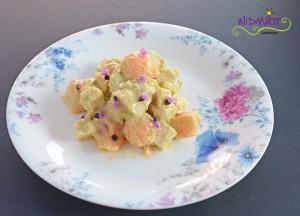 widmatt.ch Pouletsalat mit Melone & Avocado