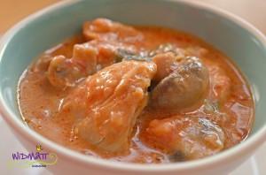 Sommer Curry mit Pouletragout 1