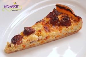 Käse-Gemüsekuchen mit Wurst 1