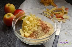 widmattch Apfel Streusel Kuchen