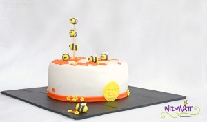 Bienen Torte 7