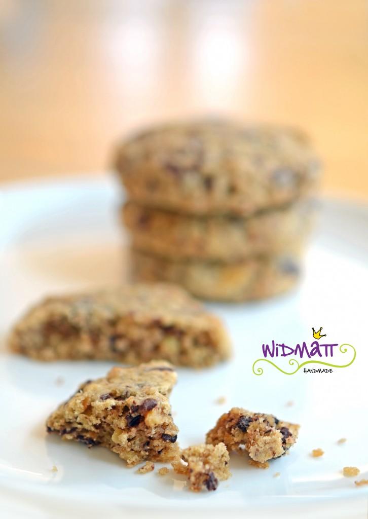 widmatt.ch Schokoladen Cookies mit Salzgebäck