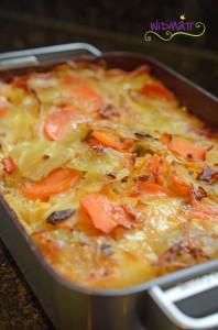 Kartoffelgratrin mit Pilze 6