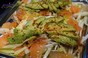 © widmatt.ch Chicorée- Grapefruit Avocado Salat