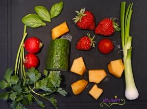 © widmatt.ch CousCous mit Erdbeeren und Melone
