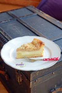 © widmatt.ch Apfelkuchen mit Frischkäse & knusper Streusel