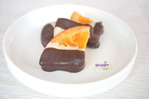 © widmatt.ch kaniderte Orangenscheiben mit Schokolade
